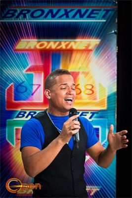 Jose singing on Bronxnet