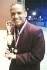 Jose with Gospelfest trophy