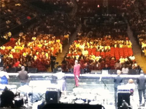 Jose's Gospelfest performance