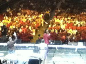 Gospelfest 2012 audience