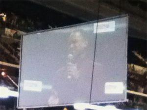 Close-up of Jose during Gospelfest
