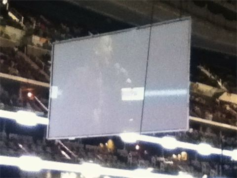 Jose on concert Jumbotron